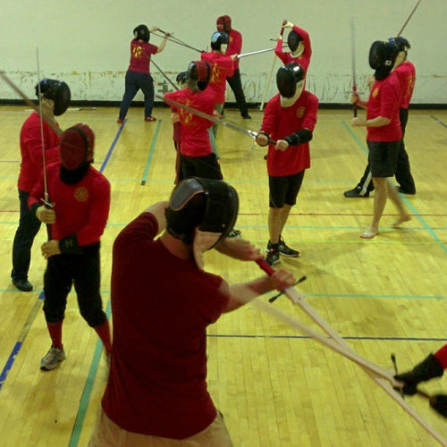 Spring Core Swordplay Course, 5 classes