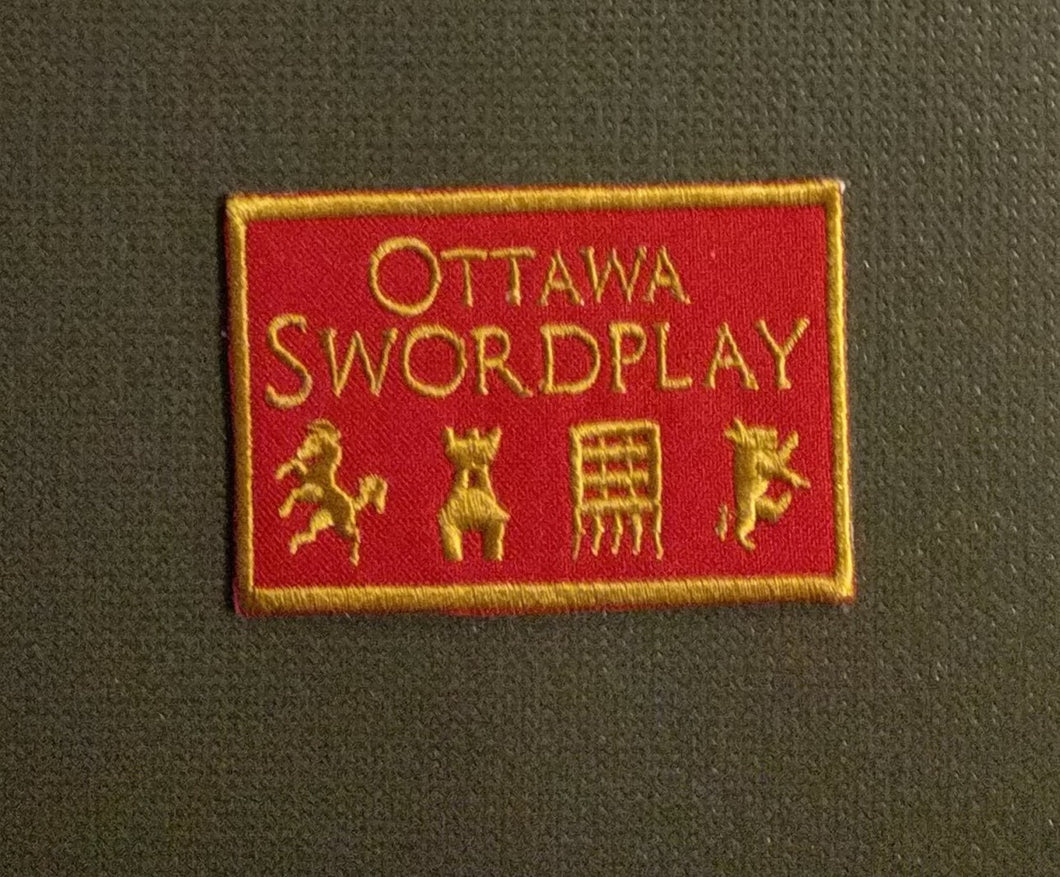 Ottawa Swordplay Club Patch