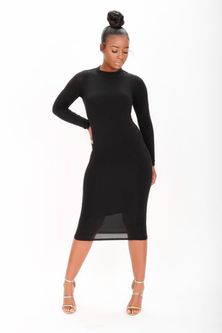 Bella Puffy Sleeve Dress