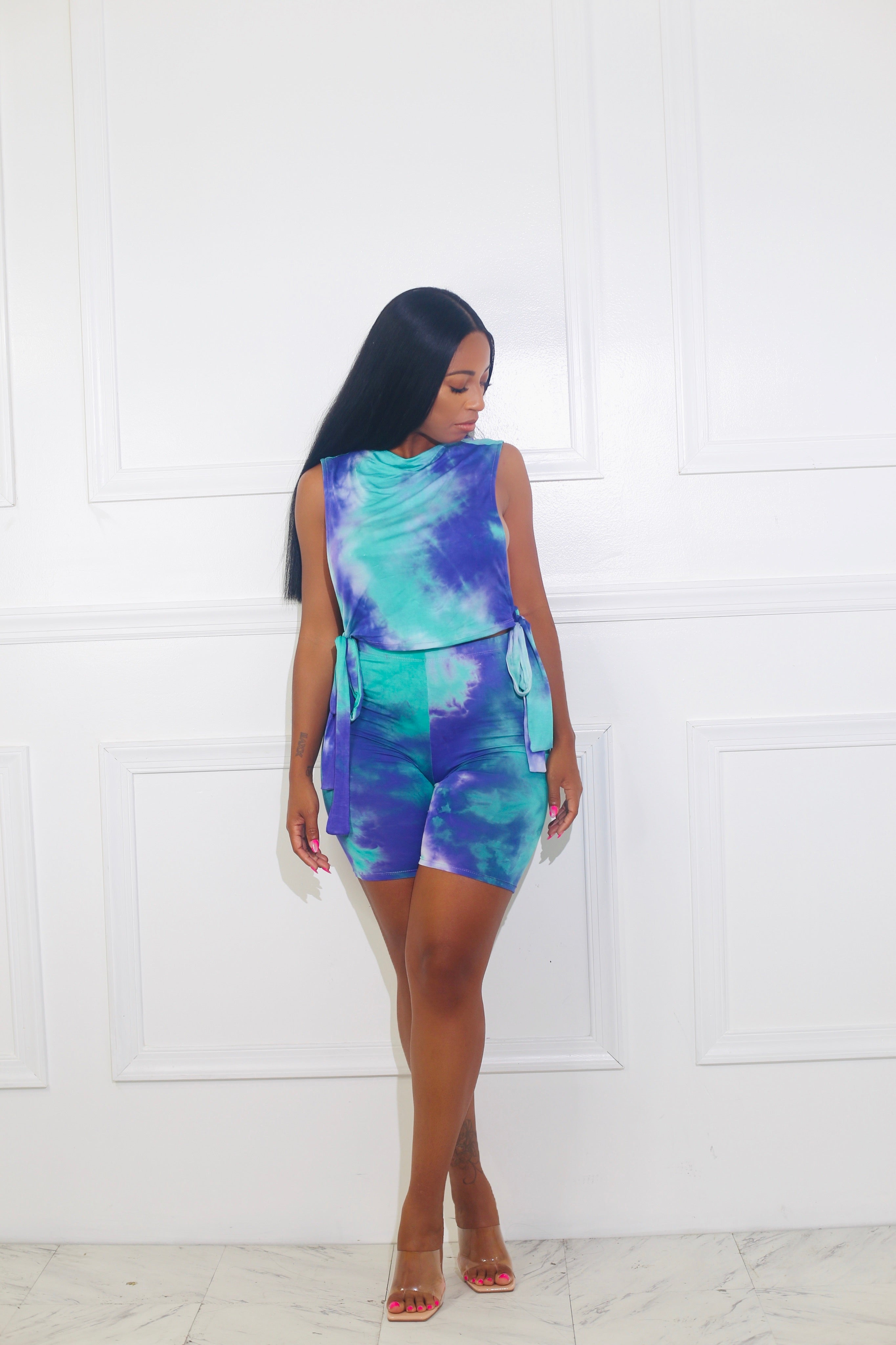 Space Out Tie Dye Set