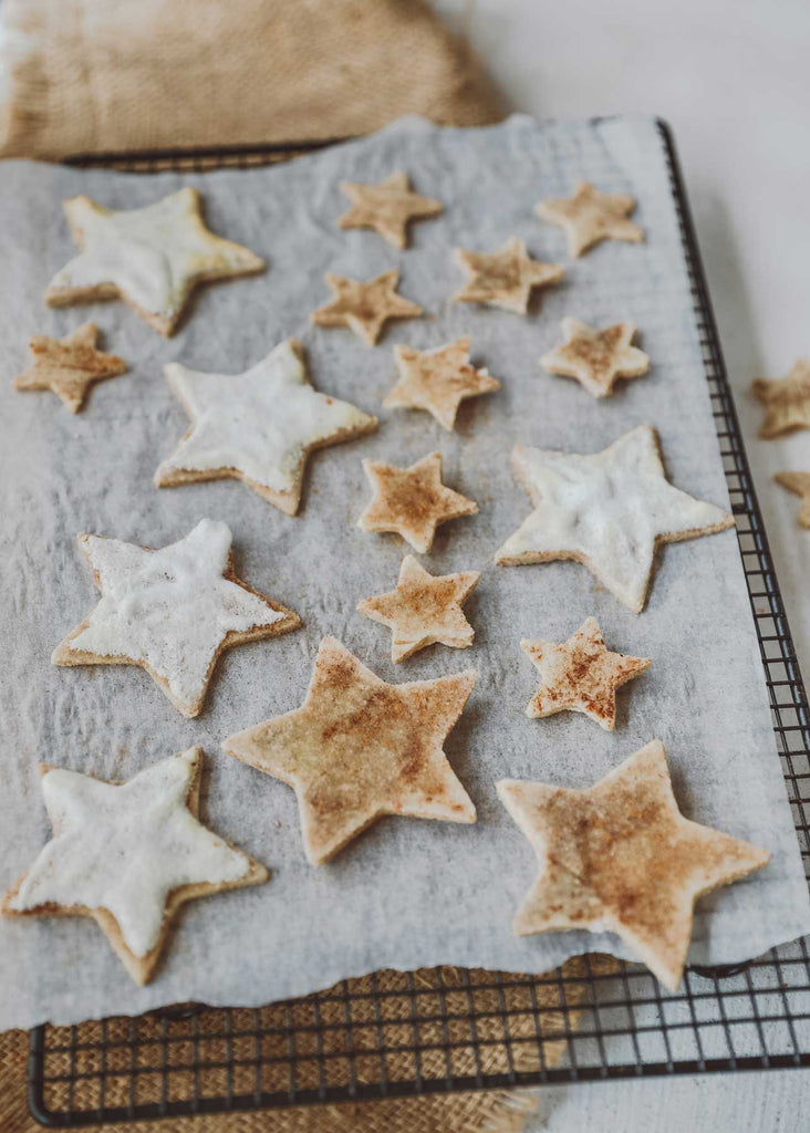 4 Ingredient Guilt Free Festive Cookies