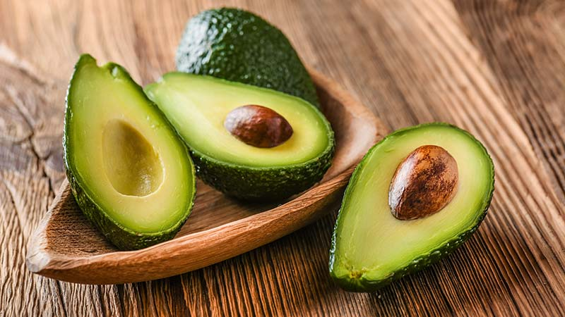 Avocadoes healthy snack good for skin and complexion
