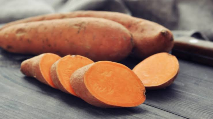 Sweet Potato Healthy Snack good for skin