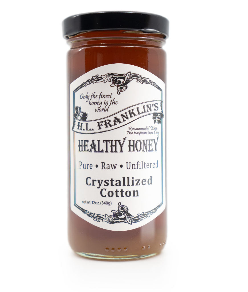 Crystallized Cotton Honey