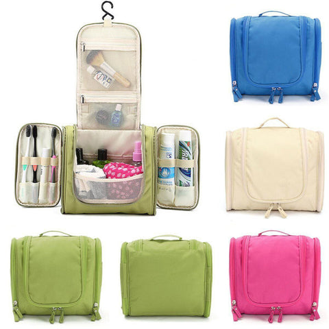 Multifunction Travel Wash Cosmetic Bag Makeup Storage Hanging Case