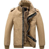 Men's Winter Thick Woolen Jackets Detachable Hooded Washed Coats Jackets