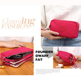 Women Nylon Phone Bag Clutch Bag Daily Capacity Wallet Coin Card Key Holder Purse