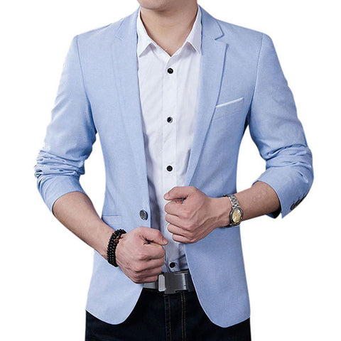 Spring Autumn Fashion Casual Business Slim Fit Best Cool Blazers for Men
