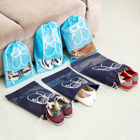 Woman Man 10 PCS Dust Bag Non-woven Fabrics Travel Shoes Bag Storage Bag