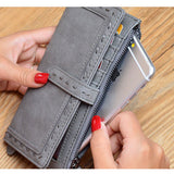 Elegant Stylish Long Wallet Card Holder Hasp Purse For Women