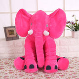 Elephant Toy Children's Long Nose Elephant Pillow Soft Doll Plush Toys Lumbar Stuff Pillow For Baby