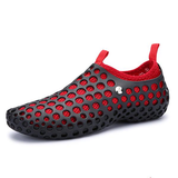 Men Mesh Breathable Light Two Way Wearing Slip On Beach Sandals