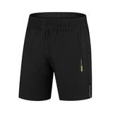 Mens Summer Outdoor Quick-drying Elastic Waist Drawstring Sports Loose Shorts