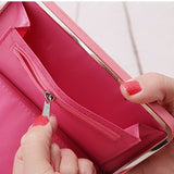 Universal Women Umbrella 5.5 Inch Phone Wallet Case Purse For Iphone,Xiaomi,Redmi,Samsung