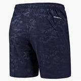 Mens Summer Elastic Waist Casual Shorts Knee Length Sport Shorts