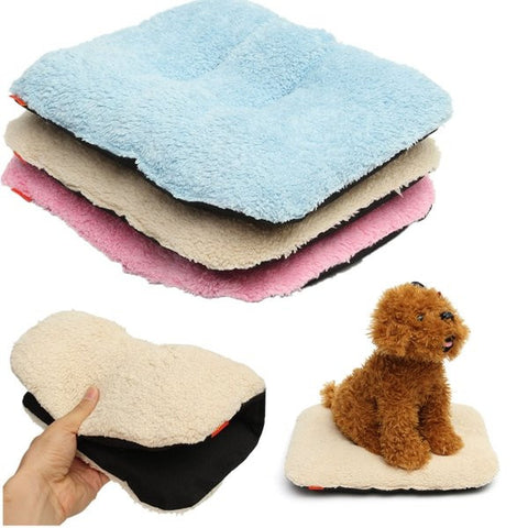 Pet Bed Ultra Soft Kennel Pillow Puppy Cushion Sofa Hot Mat Blanket Pad Dog Cat