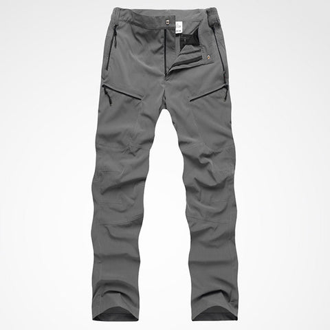 Mens Outdoor Waterproof Quick-Dry Trousers Ultraviolet-Proof Breathable Climbing Sport Pants