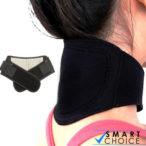 Magnetic Thermal Self-heating Neck Pad