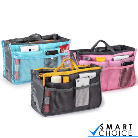 Slim Bag in bag Purse Organizer - Assorted Color
