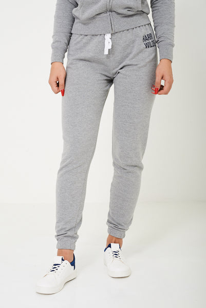 Harry Wilde Logo Sweatpants In Grey
