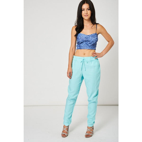 Aqua Summer Trousers Ex-Branded Available In Plus Sizes Jeans & Emporium Way Free Shipping $44.99