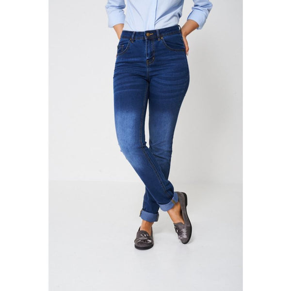 Blue Skinny Jean Ex-Branded Jeans & Trousers Emporium Way Free Shipping $34.99