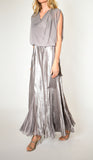 Long Blouson Dress