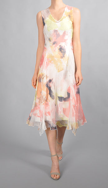 Side Cascade Dress