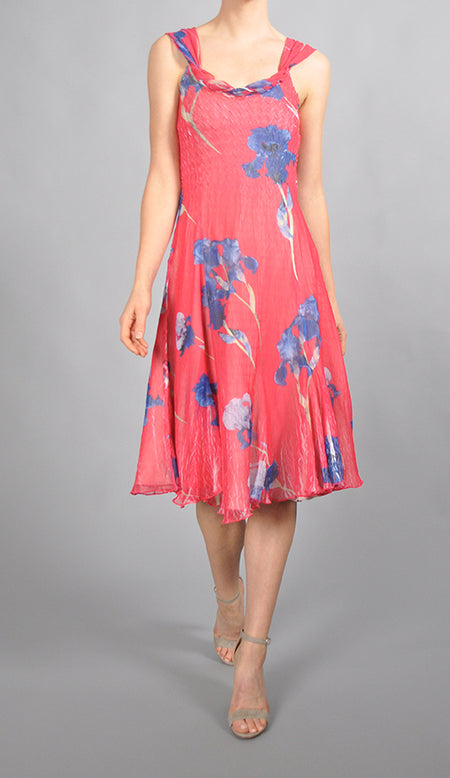 Tiered Chiffon Dress