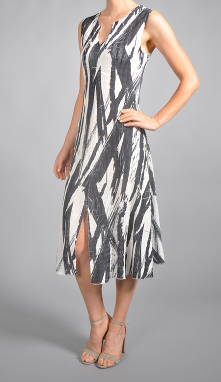 Asymmetric Hem Dress