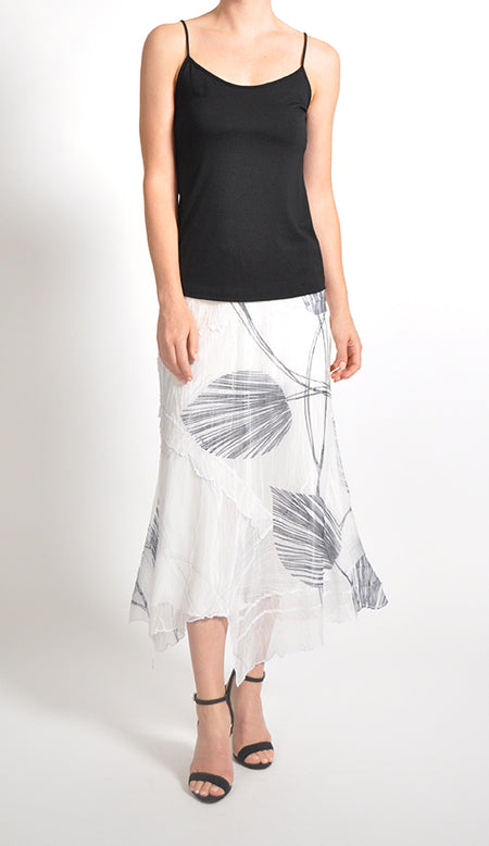 Diamond Pleated Skirt