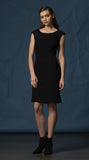 Side Paneled Ponti Dress