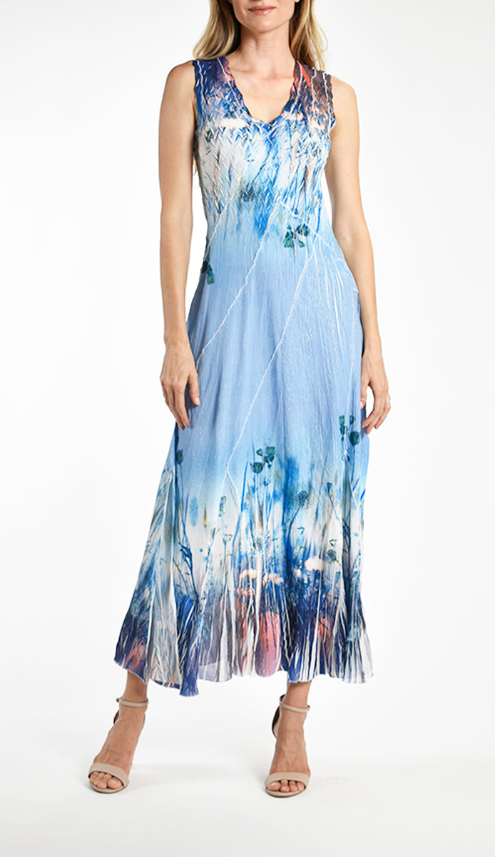 Sleeveless Long Dress (Komarov Exclusive)