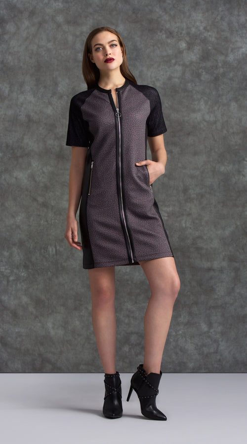 Zip Up Dress