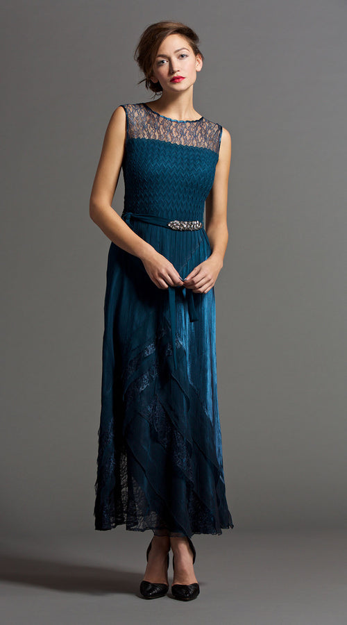 Asymmetric Layered Gown