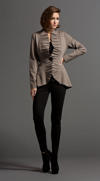 PIN TUCK JACKET
