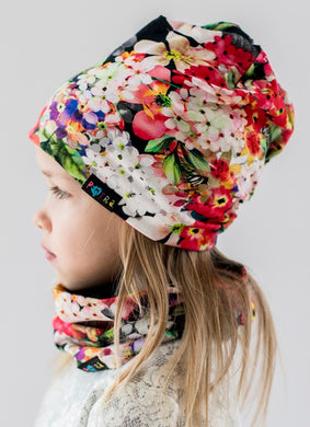Hat BRIGHT FLORAL