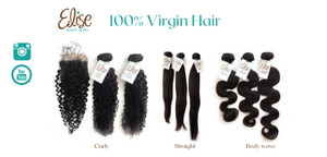 100% Virgin Hair Extensions Human Hair Bundles