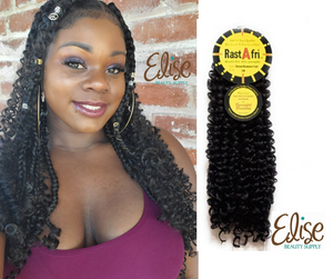 Goddess Braids with Dream Romance curl Crochet Braid