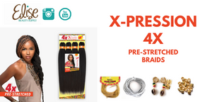 Sensationnel X-Pression 4X Pre-Stretched Braids