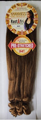 Prestretched hair for braiding