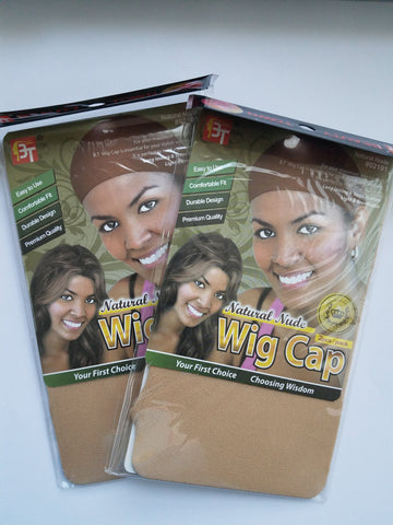 Stocking Wig Cap Natural Nude 2 Packs - Elise Beauty Supply