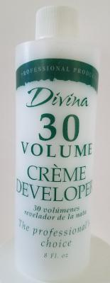 Divina Professional Products 30 Volume Creme Developer 8 oz.