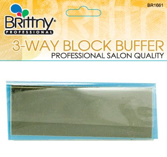 3 Way Block Nail Buffer