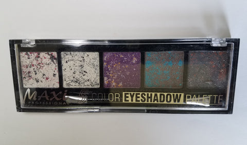 Maxi Professional 5 Color Eyeshadow Palette| Elise Beauty Supply - Elise Beauty Supply