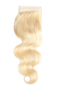 Blonde Lace Front Closure 4x4 Body Wave - Elise Beauty Supply