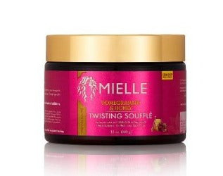 Mielle Organics Natural hair products Pomegranate & Honey twisting souffle enhances curls