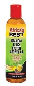 Africa's Best JAMAICAN BLACK CASTOR GROWTH OIL 4 oz.