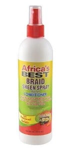 Africa's Best Braid Sheen Spray Anti-breakage Shea butter Keratin- Elise Beauty Supply