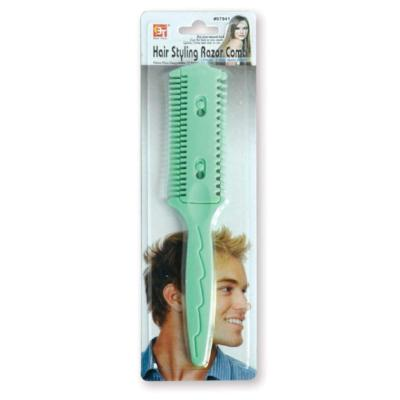 Hair Styling Razor Comb Double Edge Razor - Elise Beauty Supply